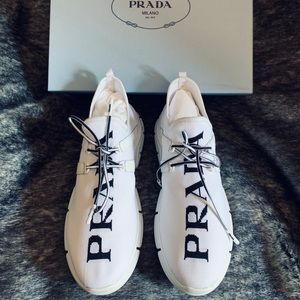 Authentic PRADA XY Knit Sneakers. Size 37